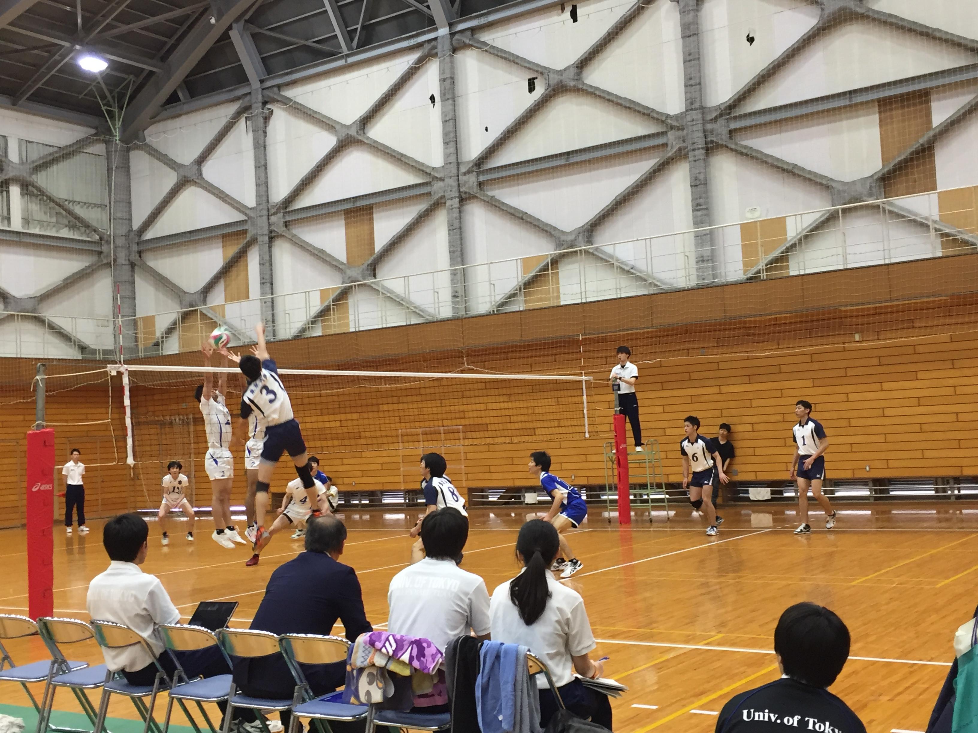 春季リーグ第2戦(vs横浜国立大学)