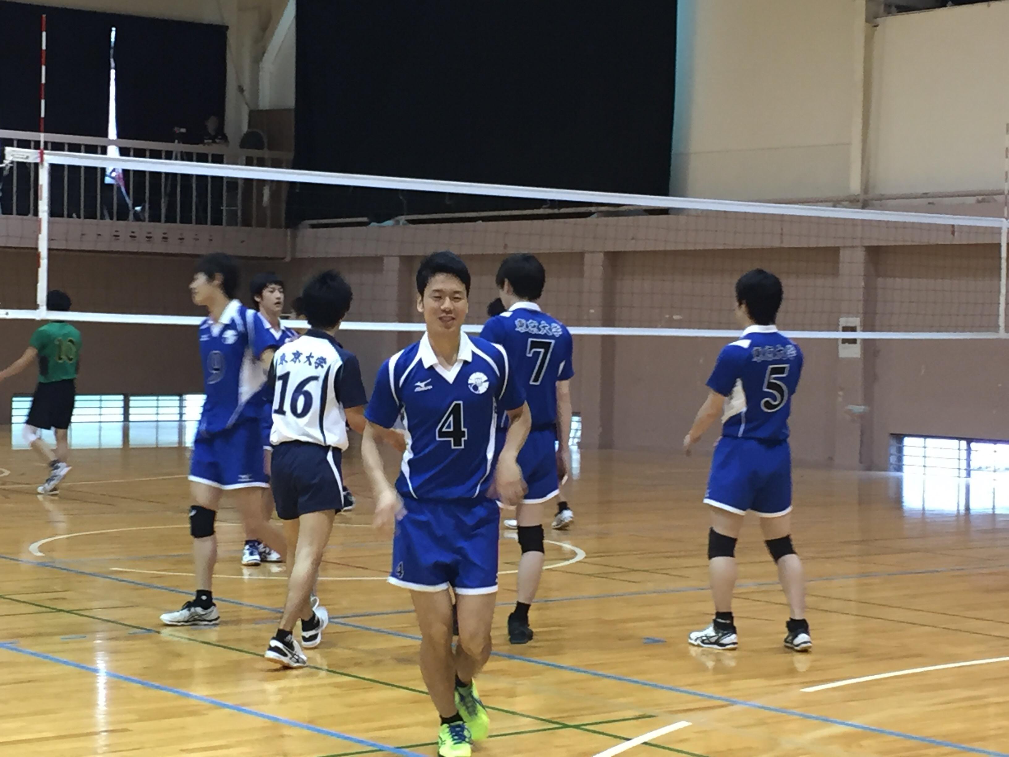 春期リーグ第1戦(vs埼玉大学)